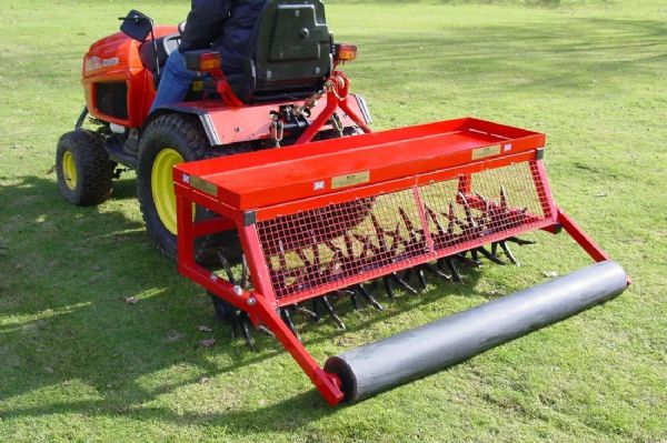 "Mounted Deep Aerator  | Towed 60"" D Turf Care System"